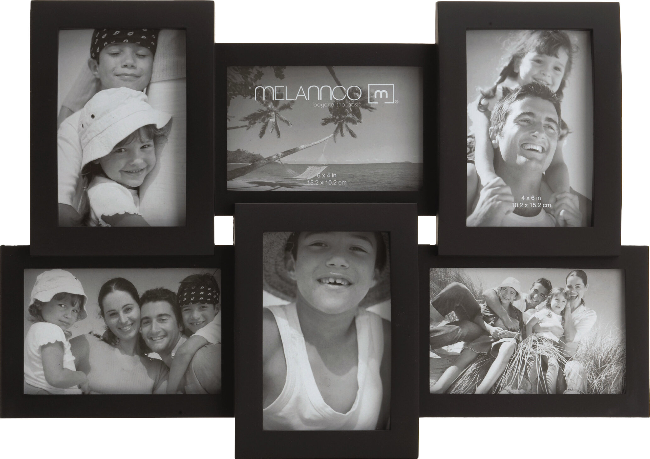 Charlton Home 6 Opening Collage Frame & Reviews | Wayfair