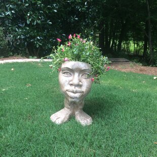 Muggly The Face Auntie Kayla Statue Planter by HomeStyles