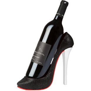 High Heel 1 Bottle Tabletop Wine Rack by ..