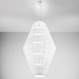 Burtrum 9-Light Geometric Chandelier by Orren Ellis