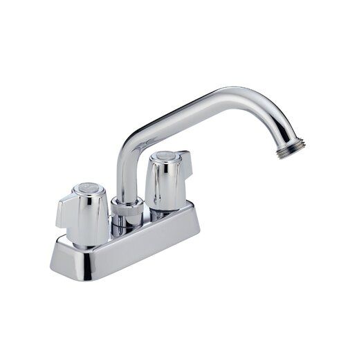 Delta Other Core Centerset Laundry Faucet with Hose Thread Spout ...