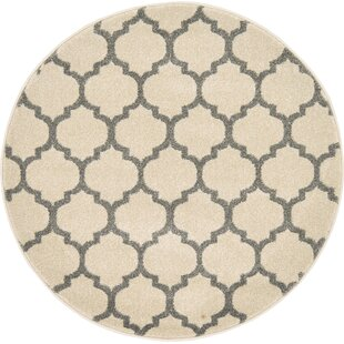 Moore Beige Area Rug by Charlton Home