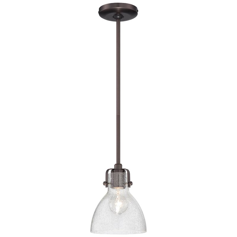 Nekoosa 1-Light Bell Pendant