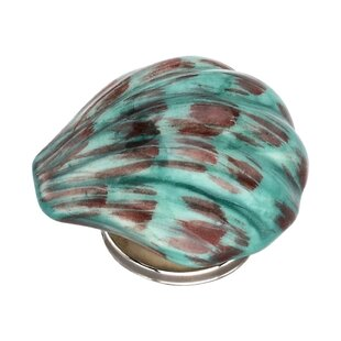 Handpainted Sea Shell Novelty Knob (Set of 8)