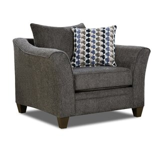 Alcott Hill Degory Contemporary Armchair by Simmons Upholstery