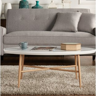 Umstead Oval Engineered Wood Coffee Table