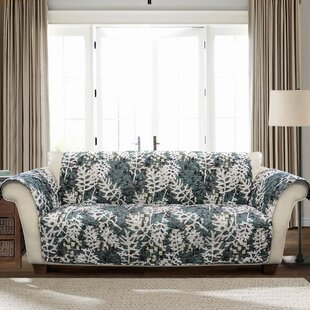 Buying Caballero Leaves Box Cushion Sofa Slipcover by Millwood Pines Reviews (2019) & Buyer's Guide