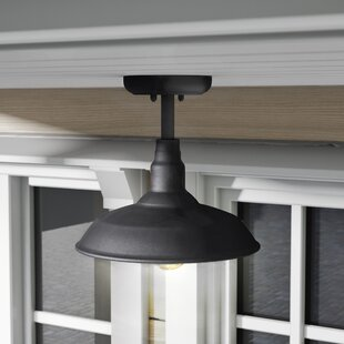 Brummett Outdoor Semi Flush Mount