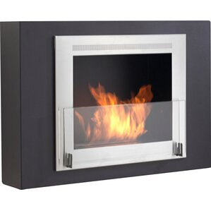 Wellington Wall Mount Ethanol Fireplace by Eco-Feu