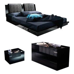Diamond Platform Configurable Bedroom Set
