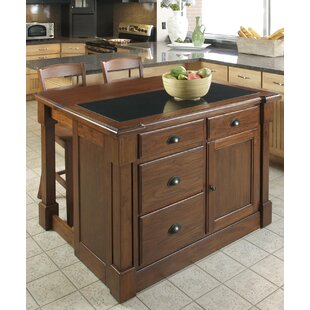 Cargile 3 Piece Kitchen Island Set