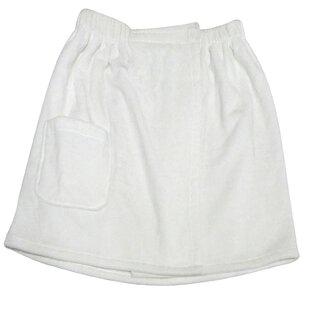 Spa and Bath Men's 100% Cotton Terry Cloth Bathrobe