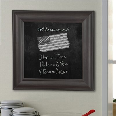 Wall Mounted Chalkboard Darby Home Co Size 17 X 101
