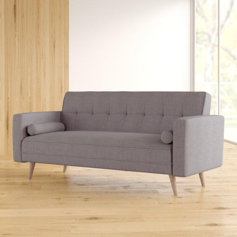 Zipcode Design Wurley 3 Seater Sofa Bed