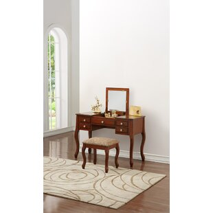 Hollen Vanity Set by Charlton Home
