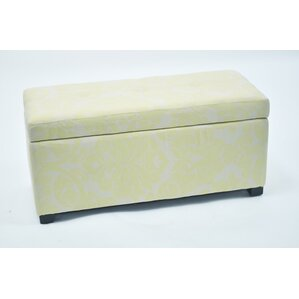 Donahue Storage Ottoman with Button by Red Barrel Studio