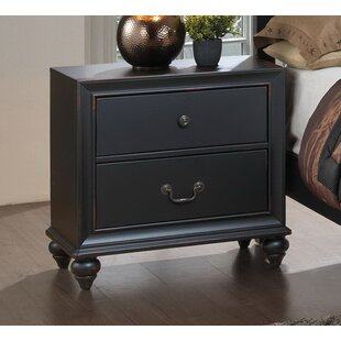 Charlton Home Jimmy 2 Drawer Nightstand