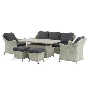Ridgewood 7 Seater Rattan Sofa Set By Sol 72 Outdoor