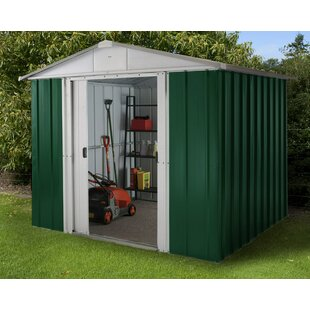 Apex 8 Ft. W X 7 Ft. D Metal Garden Shed By YardMaster