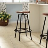 Connery Adjustable Height Bar Stool by Laurel Foundry Modern Farmhouse