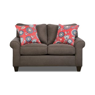 Read Reviews Bloomington Loveseat by Simmons Upholstery by Darby Home Co Reviews (2019) & Buyer's Guide