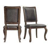 Gehring Side Chair in Walnut (Set of 2) by Alcott Hill®