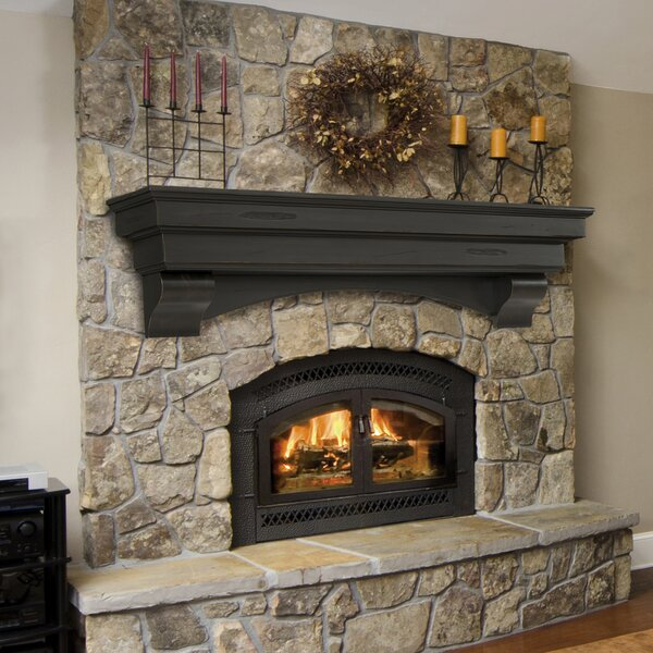 Tree Of Life Fireplace Surround: Pearl Mantels Celeste Fireplace Shelf Mantel & Reviews