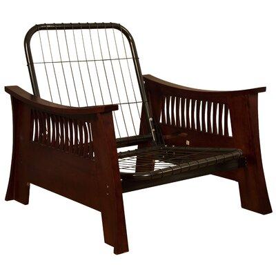 Beijing Futon Frame Epic Furnishings LLC Size: Chair, Finish: Mahogany