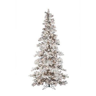 buy popular e1603 ed350 Sterling Inc Heavy Flocked Layered 75 White Spruce ...