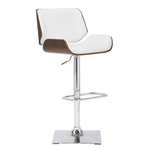 Capra Adjustable Height Swivel Bar Stool