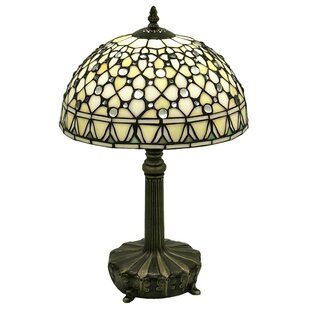 Best Reviews Jewel 19 Table Lamp By Warehouse of Tiffany