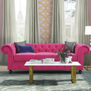 Blush Pink Velvet Sofa Wayfair