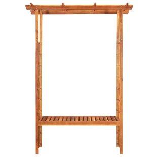 Bourke 1.98m X 1.43m X 0.5m Wood Pergola By Sol 72 Outdoor