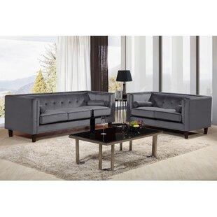 Sela 2 Piece Living Room Set by Mercer41