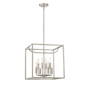 Designers Fountain Uptown 8-Light Square/Rectangle Chandelier