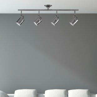 Great Price 4-Light Track Kit By Globe Electric Company