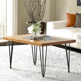 Reviews Bancroft Bamboo Coffee Table by Williston Forge
