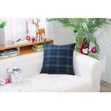 Esterel Plaid Scotland Tartans Cotton Throw Pillow
