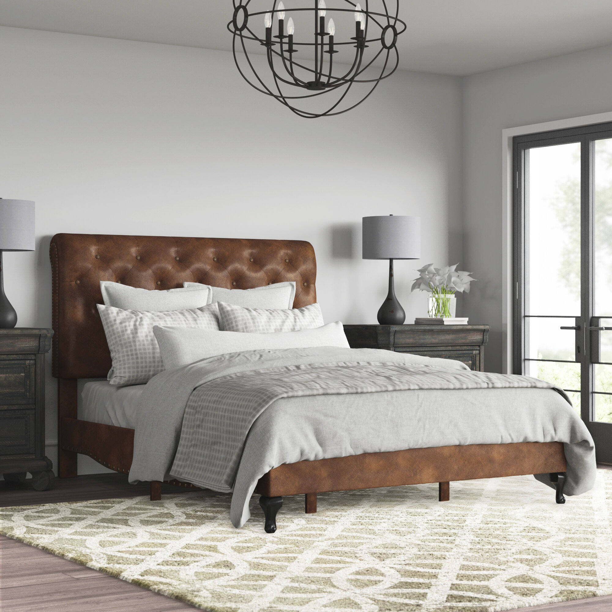 Greyleigh Sheena Upholstered Standard Bed Reviews Wayfair
