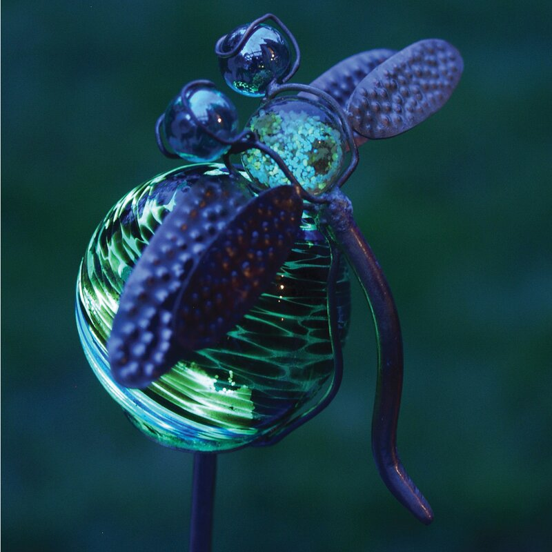 Illuminarie Dragonfly Garden Stake