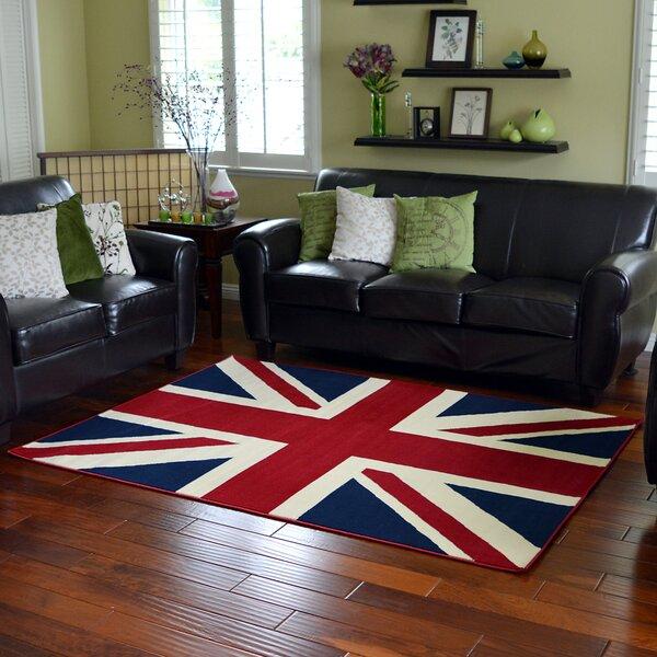 Perfect DonnieAnn Company American Patriot Flag Of British Union Jack Area Rug U0026  Reviews | Wayfair