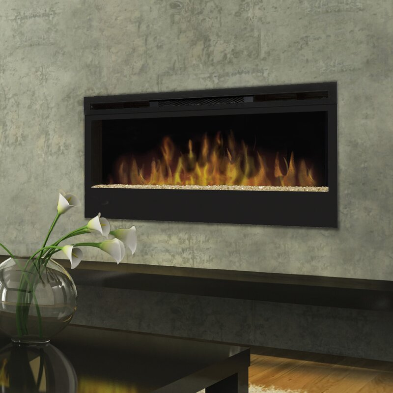 Dimplex Synergy Wall Mounted Electric Fireplace  Reviews Wayfair - Dimplex electric fireplaces