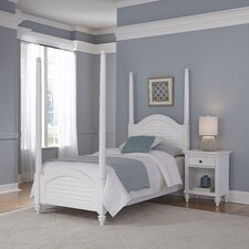 Kenduskeag Four Poster 2 Piece Bedroom Set by Breakwater Bay