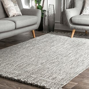 Short Pile Living Room Rug Modern Geometric Design Diamond Pattern Anthracite
