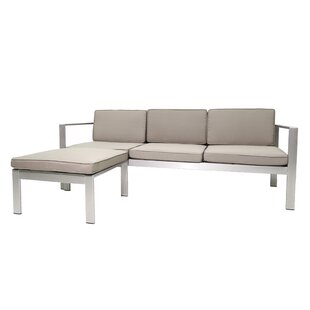 Hillwood Patio Sectional with Cushions