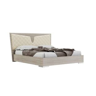 East Upholstered Platform Bed