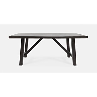 Buser Trestle Dining Table World Menagerie