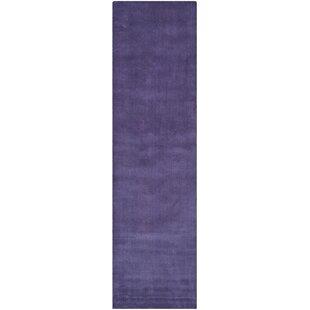 Bargo Purple Area Rug by Wade Logan