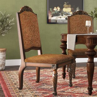 Castlethorpe Upholstered Dining Chair (Set of 2) Astoria Grand