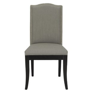 Adeco Trading Fabric Parsons Chair (Set of 2)